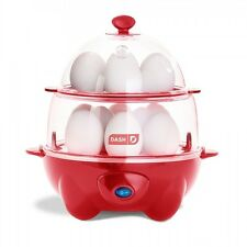 New Dash RED 360 Watt Deluxe Rapid Egg Cooker, 12 Eggs