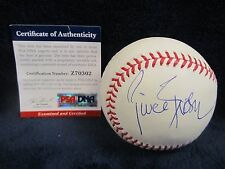 Pierce Brosnan (Actor-James Bond 007) Autographed OML (Selig) Baseball–PSA Cert