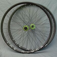 "H Plus Son Hydra Sapim Race spokes disc brakes wheelset CX 700c 29"" MTB 1780g"