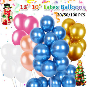 10'' 12'' Latex Balloons Wedding Birthday Balloons Kids Boy Girl Baby Party