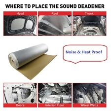 Sound Deadener and Heat Shield Mat, Noise & Thermal Proof Insulation 30''x39''