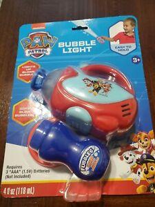 Bubble Light Paw Patrol