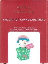 New Listing2020 Hallmark Ornament The Gift of Granddaughters
