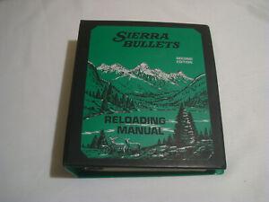 SIERRA BULLETS MANUAL, 1978 EDITION, BINDER TYPE