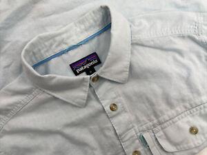 Patagonia Mens Medium Long Sleeve Cayo Largo II Shirt MSRP $89.00 52126 Hemp