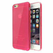 Lyfe Goods iPhone 6 Cases, Slim Transparent Cell Phone Cover, Color:  Red