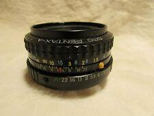 Pentax-A SMC 50mm 1:1 .7 Obiettivo Fotocamera-Pentax K PK Mount