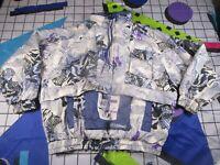 vtg 90s 00s killtec winter sports  ski snowboard jacket fancy dress