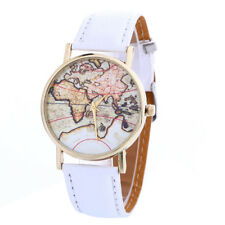 Fashion Casual Travel World Map Watch Women's Quartz Wrist Watch Ladies Watches