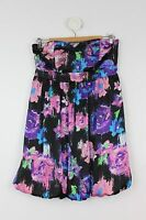 Women's FREE FUSION Strapless Dress with Fitted Bodice Size 10