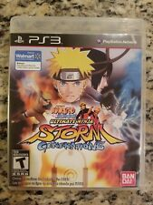 Naruto Shippuden Ultimate Ninja Storm Generations PS3 COMPLETE FREE S/H