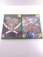 2 Pirates (Microsoft XBOX) Complete Games Tested & Fast Shipping