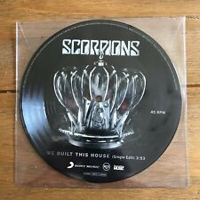 "Scorpions - We Build This House 7"" Picture Disc Vinyl"
