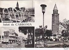 # CARBONIA: SALUTI DA - 3 VEDUTE