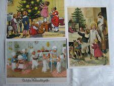 3 alte Weihnachtskarten   Artcolor Verlag