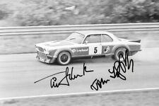 Schenken & Fitzpatrick SIGNED  Broadspeed Jaguar XJ12C , ETC Zandvoort 1977