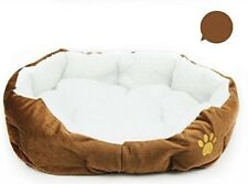 Westeng 1X Shape Dimple Fleece Nesting Dog Cave Bed Pet Cat Bed for Cats and Sma