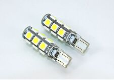 T10 501 W5W Can Bus 8000K interior sidelights WHITE LED 13-SMD bulbs FORD I