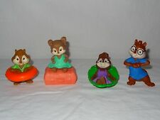 McDonald's Happy Meal toys-The Chipmunks lot of 4 boys & girls chipwrecked + oth
