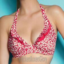 Freya Swimwear Charleston Halter Bikini Top Red 3299
