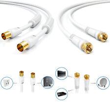 HD Antennenkabel TV / SAT Digital Kabel 4K UHD HDTV Antennen Koaxial Koax Kabel