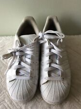 ADIDAS ORTHOLITE ladies white pump plimsole lace up trainer size 5/38
