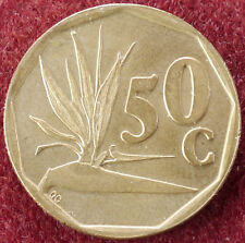 South Africa 50 Cents 1992 (D1204)