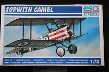 YB059 ESCI 1/72 maquette avion 9020 Sopwith camel