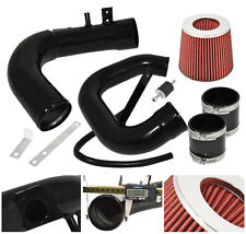 04-09 Mazda 3 L4 4Cyl Performance Cold Air Induction Intake Filter System Black
