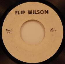 Flip Wilson 45 rpm NM 196? Comedy Promo Item Private Pressing SK-1