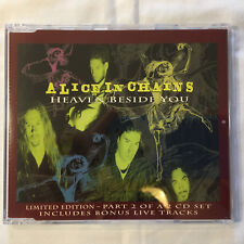 ALICE IN CHAINS rare Heaven Beside You Part 2 CD single Mad Season Grunge Staley