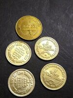 Vintage Tokens!  Maryland Transit and Virginia King's Dominion