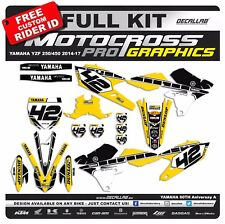 YAMAHA YZF250 YZF450 2014 2015 2016 2017 60th Aniversary MX Graphics Decals