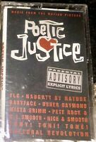 SEALED POETIC JUSTICE MOVIE SOUNDTRACK CASSETTE TAPE 2PAC NEW UNOPENED LOOK!!