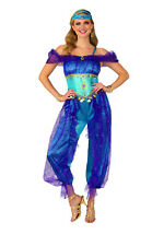 Genie Harem Dancer Women's Costume Alladin Cosplay Adult Size Medium