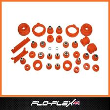Ford Escort MK3 Front & Rear Suspension Bushes in Poly Polyurethane Flo-Flex