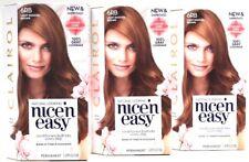 Anuncio nuevo3 nuevo y mejorado Clairol Nice N Easy 6RB Luz Marrón Rojizo  tintes permanente del pelo e78b6364ab14
