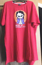 Fishbone T-Shirt mit Joker Druck Gr XXL