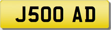 AD 5 OAD 50 FIFTY Private CHERISHED Registration Number Plate Addison Downey