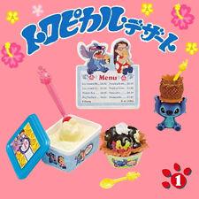 Rare! Re-ment Miniature Disney Stitch Tropical Dessert No.1 Waffle Ice cream