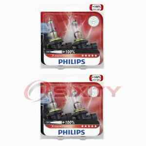 2 pc Philips Low Beam Headlight Bulbs for Audi A6 A6 Quattro S4 S6 V8 oo