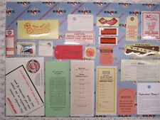 1953 Buick Super Engine & Interior Decal/Tag Kit | Set of 22