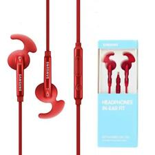 Auricolari  sport Originale Samsung EO-EG920BB IN-EAR FIT rosso