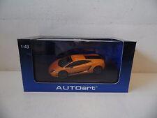 AUTOart MODELS - LAMBORGHINI GALLARDO LP570-4 - ORANGE- 1/43 SCALE MODEL - 54641