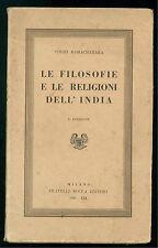 YOGHI RAMACHARAKA LE FILOSOFIE E LE RELIGIONI DELL'INDIA FRATELLI BOCCA 1941