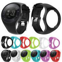 Silicone Amovible Bracelet de montres Bande de remplacement Band Pour Polar M200