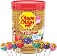 Chupa Chups The Best Of Lollipop Tube Pack of 100