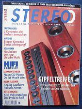 STEREO 5/96.BLUE ROOM MINIPOD,TANNOY 631 SE,RCF MYTHO 1,REVOX ELEGANCE,CANTON 91