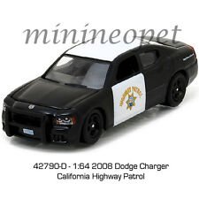 GREENLIGHT 42790 D 2008 DODGE CHARGER CALIFORNIA HIGHWAY PATROL CHP POLICE 1/64