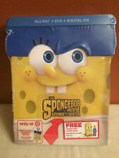 SpongeBob Exclusive Sponge Out Of Water Movie In Invincibubble Packing Blu-Ray
